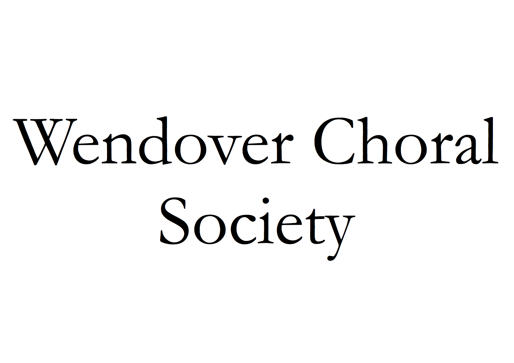 Wendover Choral Society